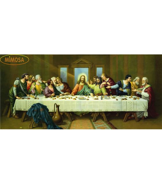 Tranh sơn dầu tôn giáo - Bữa Tiệc Ly MM018