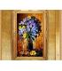 Tranh sơn dầu tĩnh vật_Bông Cúc MM013