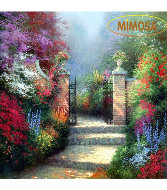 Tranh sơn dầu nghệ thuật-Con đường thơ mộng MM001